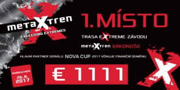 Pro vítěze metaXtren Krkonoše 1 111 euro!