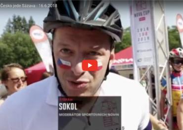 Reportáž Česko jede Sázava