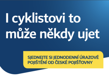 Využijte úrazové pojištění od České pojišťovny