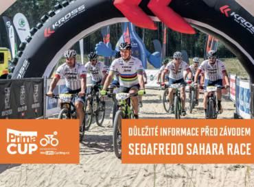 Důležité informace před závodem Segafredo Sahara Race