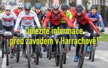 ! Důležité informace před závodem v Harrachově!