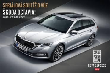 Vyhrajte auto ŠKODA OCTAVIA na tři měsíce!