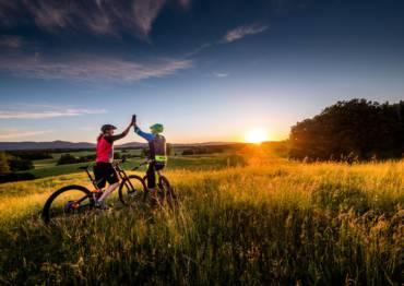 #světovéČesko a skvělé stezky pro bikery