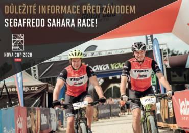 Důležité informace před závodem Segafredo Sahara Race!
